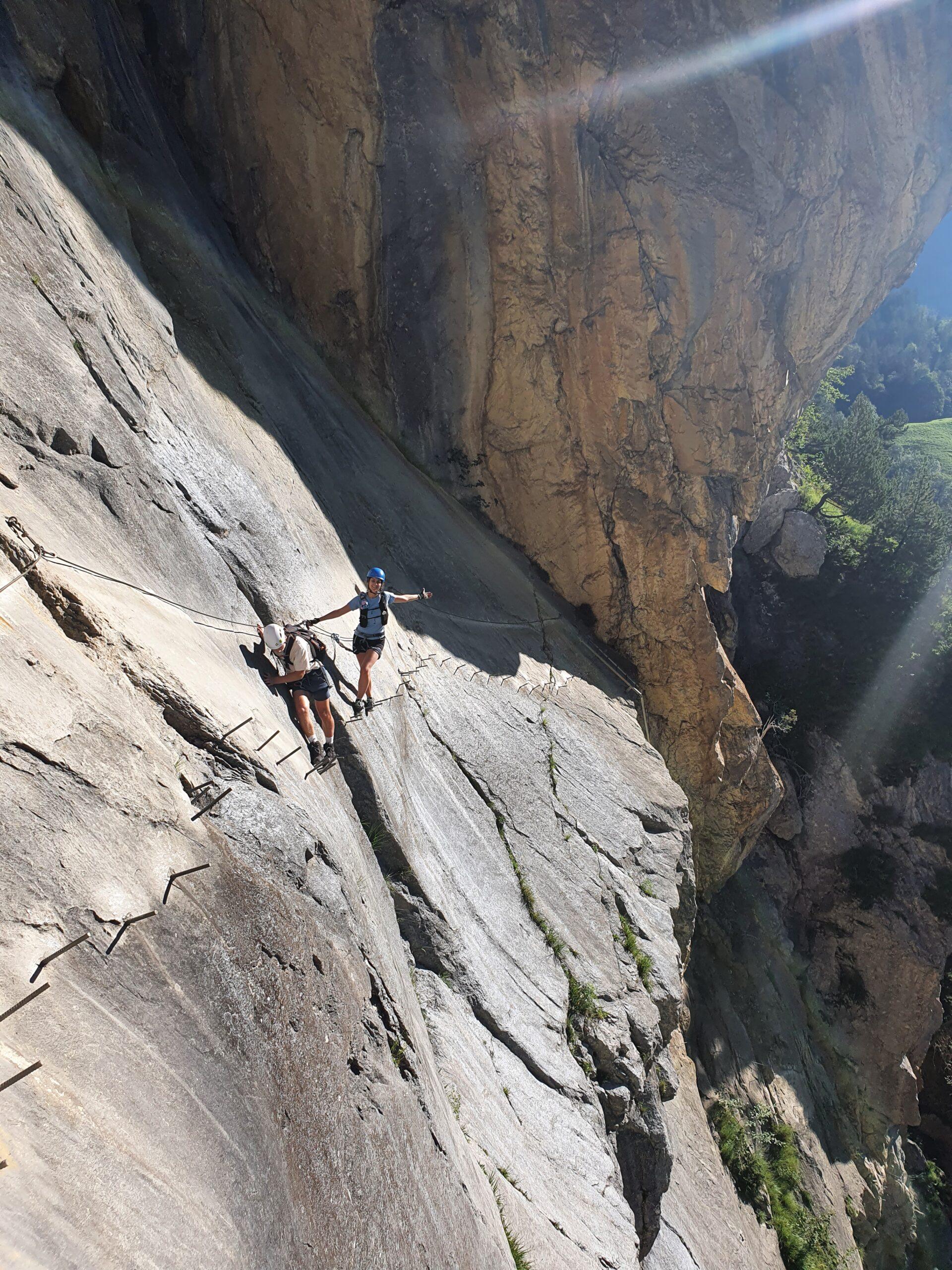 Klettersteig Allmenalp in Kandersteg