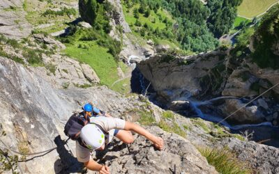 Tag 9 – 1026hm – Klettersteig Kandersteg