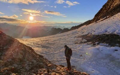 Tag 20 – Hochtour – Oberaarjochhütte Abstieg