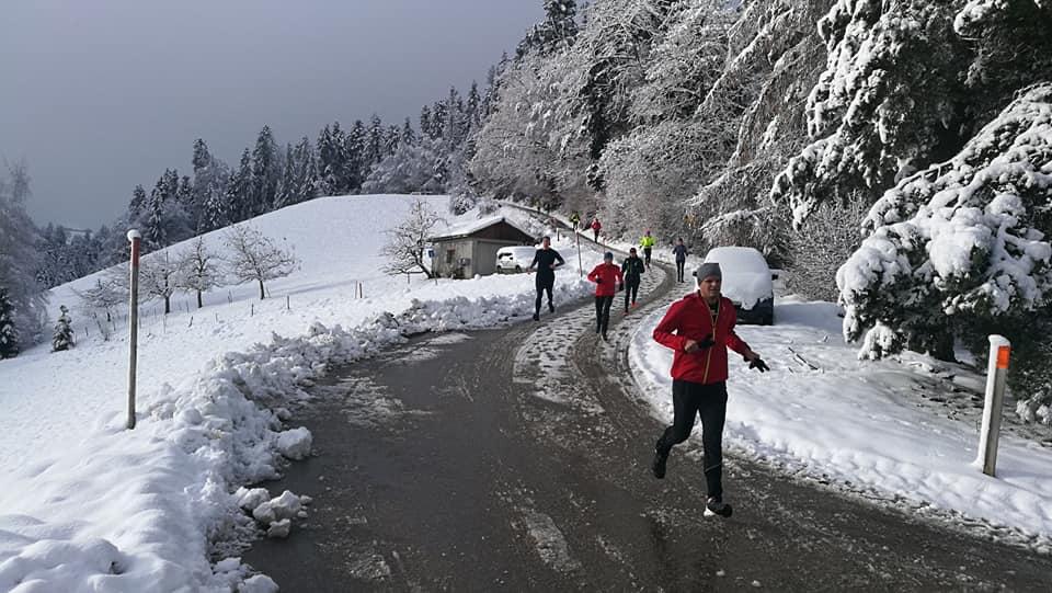 Foto von Ivo Scherzinger | Winterlauftraining Emmental