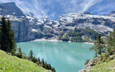 Doldenhornhütte und Oeschinensee
